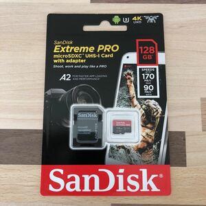 マイクロSDカード 128GB Extreme PRO