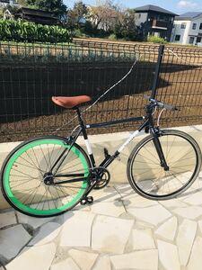 軽整備済み♪ピスト!700c!air bike!即決です!!!引取り限定!!