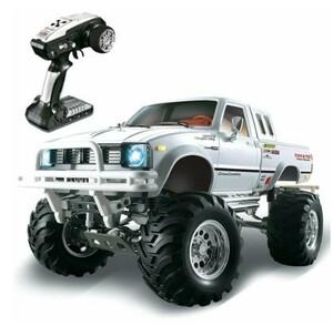 HG P407 1/10 TOYATO メタル4X4ピックアップトラックロッククローラーRTRおもちゃ用2.4G 4WD RCカー