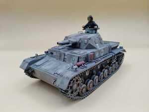 タミヤ 1/35ドイツ IV号戦車D型 完成品