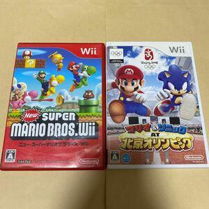 NewスーパーマリオブラザーズWiiとマリオ&ソニック AT 北京オリンピック  Wii