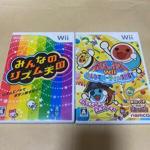 みんなのリズム天国と 太鼓の達人Wii みんなでパーティ3代目!