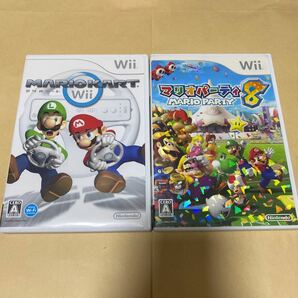 マリオカートWiiとマリオパーティ8 Wii