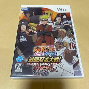 NARUTO-ナルト-疾風伝 激闘忍者大戦!スペシャル Wii