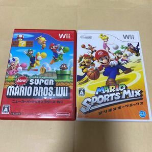 NewスーパーマリオブラザーズWiiとマリオスポーツミックス Wii