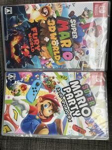 Nintendo Switch マリオパーティ マリオ3D まとめ売り 新品未開封 1スタ