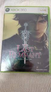 【送料無料】【未開封】XBOX360ソフト THE LAST REMNANT