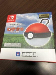 【新品 未使用】Nintendo Switch ポケモン ケース ハード ポーチ for モンスターボール PLUS ニンテンドースイッチ ポケットモンスター go
