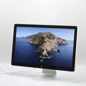 1円スタート Apple Thunderbolt Display A1407 27インチ 液晶ディスプレイ 2560×1440