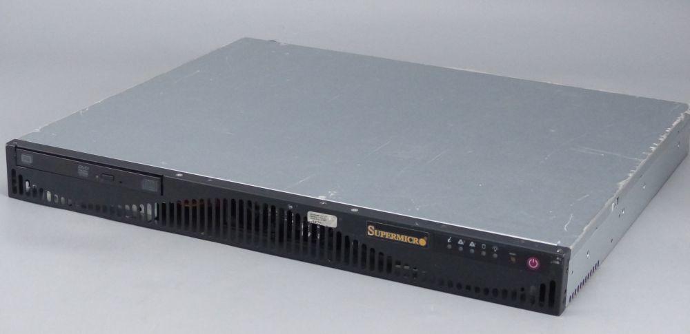 ★1円スタート SUPERMICRO / Mini 1U chassis / Xeon E5-2630@2.3GHz / 32GB DDR3 ECC /OSなし /保証なし