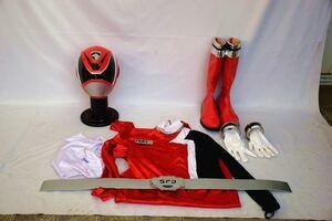 アトラク一式 レッド 戦隊 コスチューム コスプレ 衣装