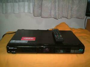 1ヶ月保証 シャープ BD-HDW53  HDD/DVD/ブルーレイ/ レコーダー 2番組同時録画 320GB 新品リモコン  B-CASカード付き