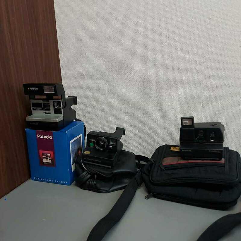 ポラロイドカメラ polaroid sun600 impulse cl 3000 動作未確認 ジャンク品