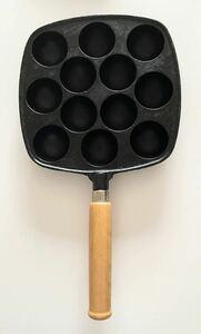 【鋳物】たこ焼き器 12穴