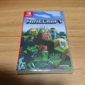 ★新品、未開封★1円~Nintendo Switch「マインクラフト Minecraft」ニンテンドースイッチソフト