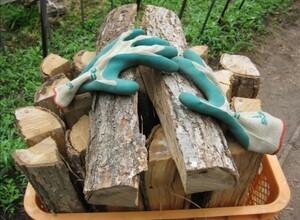 45cm ミズナラ 水楢  約24kg 乾燥薪 1年乾燥 薪ストーブ キャンプ 発送 長野 焚火 薪 焚火台