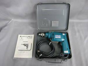 ND4658an07  makita マキタ 10mm 電動ドリル HP1030 無段変速・正逆転両用 チャック付