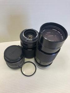 NG2595  Canon キャノン カメラレンズ 3点セット