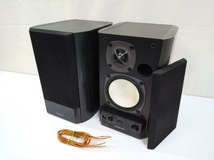 NC1855  ONKYO オンキョー POWERD SPEAKER SYSTEM パワード スピーカー システム ペア セット GX-500HD 中古