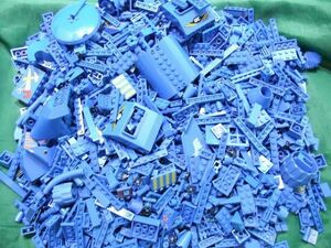 Ay13 レゴ 青 ブルー バラパーツ まとめてセット 大量 約6.2キロ kg