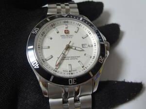 スイスミリタリー SWISS MILITARY FLAGSHIP 腕時計  展示未使用品