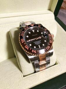 SEIKO セイコー ムーブメント搭載 NH35A Mod ハイクラス品 カスタム腕時計④