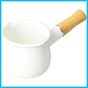 【送料無料-特価】 ブランキッチン HB-3676 F0199 パール金属 ミルクパン ホワイト 10cm ホーロー