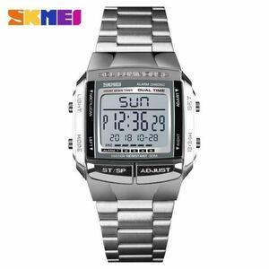 SKMEI 軍事スポーツ腕時計電子メンズ腕時計トップブランドの高級男性時計防水 LED デジタル腕時計レロジオ Masculino
