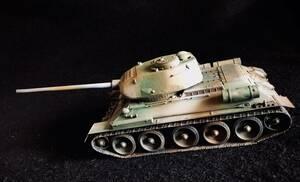 【完成品】ソビエト陸軍 T34/85 中戦車 タミヤ 1/35 ミリタリーミニチュアシリーズ No.138