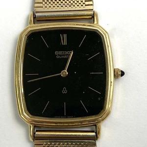 t)セイコー SEIKO 腕時計 6020-5430 ケース部分K14(14金) クオーツ 2針 ブランド品 中古 ※ベルト社外品