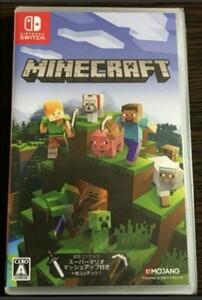 新品未開封 マインクラフト Switch版 Minecraft