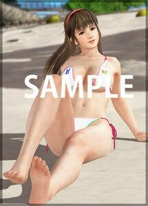PS4/Switch DEAD OR ALIVE Xtreme 3 Scarlet 楽天ブックス特典 B2布ポスター(ヒトミ)