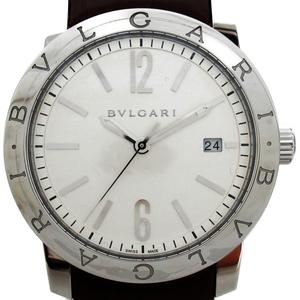 [即決] ブルガリ ブルガリ ブルガリ 腕時計 Sランクラバーベルト ステンレススチール 美品