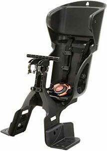 黒・黒 OGK ヘッドレスト付カジュアルフロント子供乗せ FBC-015DX