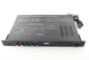動作確認済!!Roland ローランド デジタル・ディレイ SDE-1000 エフェクター