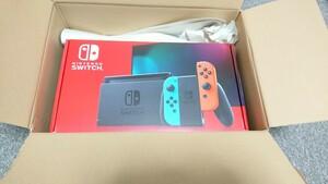 【未開封・保証1年】任天堂 Nintendo Switch 本体 (ニンテンドースイッチ) ネオンブルー/ネオンレッド 新モデル