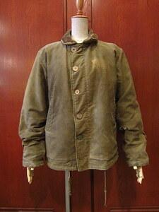 ビンテージ40's★U.S.NAVY N-1デッキジャケット★1940sミリタリー米軍実物USN海軍メンズ大戦WW?