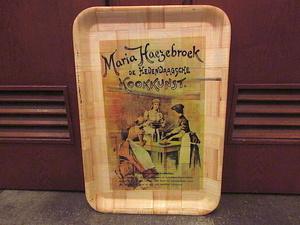 ビンテージ★Maria Haezebroekバンブートレイ★191119s7雑貨インテリアディスプレイお盆竹食器運搬キッチン