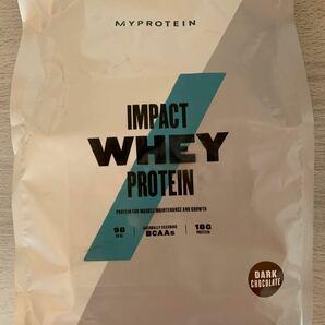 MYPROTEIN INPACT WHEY PROTEIN ダークチョコレート味 1kg