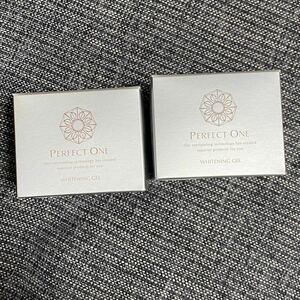 パーフェクトワン薬用ホワイトニングジェル 2個セット  新日本製薬