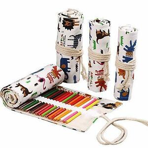 新品 色鉛筆 72色 油性色鉛筆 画材セット ロールケース入り 塗り絵 お絵描き プレゼント用 子供、学生、大人向けYMA7