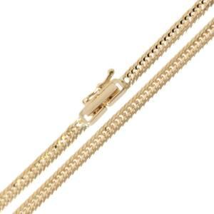 喜平ネックレス 12面トリプル チェーンネックレス K18YG 18金イエローゴールド 造幣局検定マーク 約45cm 幅約3.0mm 重量約11g NT
