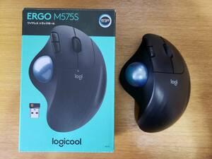 Logicool ERGO M575S ワイヤレストラックボール ブラック