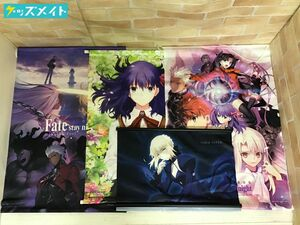 [ present condition ] theater version Fate/stay night Heaven's Feel tapestry all sorts set sale total 4 point TYPE-MOON