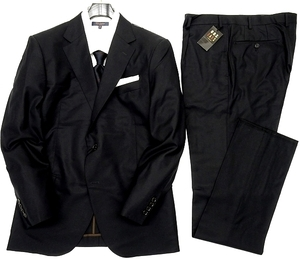 ■DAKS LONDON ダックス 定価13.2万 日本製 高級ウール 2B テーラードジャケット パンツ スーツ セットアップ 0701 075 BB7▲100▼are2146c