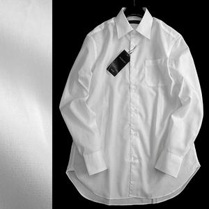 ■D'URBAN ダーバン 新品 秋冬 最旬 定価1.3万 上質コットンブロード レギュラーカラー 長袖 シャツ ドレスシャツ 101 90 M▲020▼are2452c
