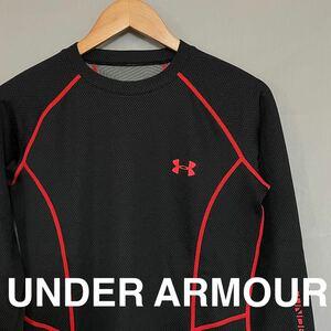 アンダーアーマー UNDER ARMOUR 【良品】 トレーニングウェアー スポーツウェアー ジムウェアー 長袖 メンズ SMサイズ