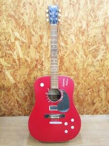 ☆SAGANO サガノ F180 アコースティックギター Gibsonエレキ風落書き アコギ 弦楽器 【ジャンク】☆ S02-1014
