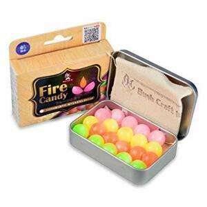 マルチ Bush Craft(ブッシュクラフト) ファイヤーキャンディ (Fire Candy)20粒入り 06-0