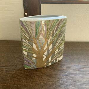 ローゼンタール デザイナーズ フラワーベース 花瓶 花器 西洋陶器 デザイナー サインあり